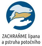 Logo spolku Zachraňme lipana a pstruha potočního z.s.